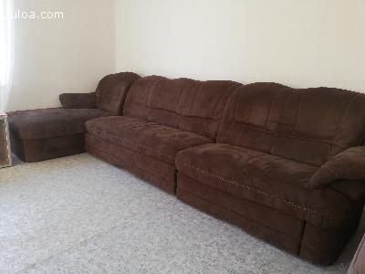 Sötétbarna kanapé
